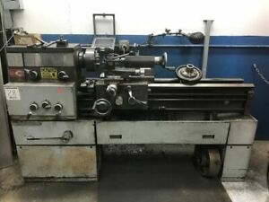 Mondiale Engine Lathe Chuck Toolpost Tailstock 5 Bed S n 14ncc67206th