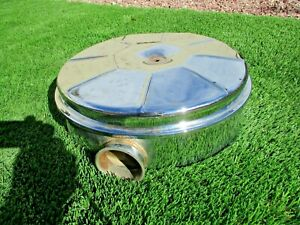 Rare Oem 1961 Studebaker Hawk Large Chrome Oil Bath Air Cleaner Hot Rod Rat Rod
