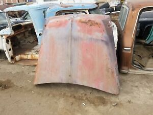 1953 1954 1955 1956 Ford Truck Hood No Cancer 53 54 55 56