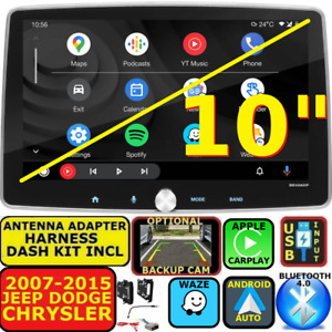 Chrysler Jeep Dodge Nav Bluetooth Apple Carplay Android Auto Car Radio Stereo