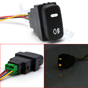 For Mitsubishi Lancer 2005 2018 Oe style Push Button Switch W led Indicator Lamp