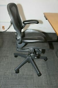 Herman Miller Aeron Office Chairs New Condition just Wipe Dust Black Size B