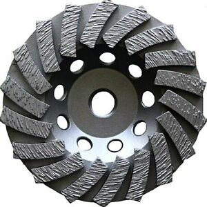 5 18 Segment Diamond Cup Wheel Fits Angle Grinder