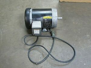 Baldor Reliance Motor Cm3554 1 5 1 1 2 Hp 3ph 208 230 460v 1725rpm 56c Frame