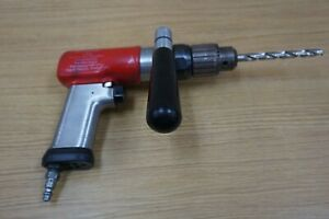 Snap On Pneumatic Reversible Air Drill Pdr5a W Pdah1 Clamp