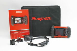Snap on Tpms4 Tire Pressure Monitoring Portable Diagnostic Scan Tool