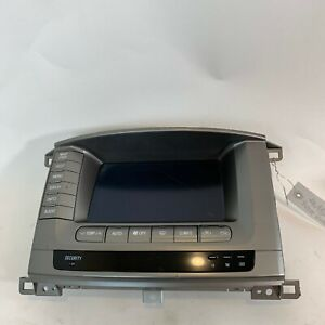 2002 2003 2004 Toyota Land Cruiser Navigation Multi Display Unit 86111 60150 Oem