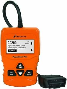 Actron Cp9660 Pocketscan Plus Abs obd Ii can Scan Tool For 1996 And Newer