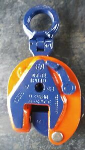crosby Ipu10 1ton Inter Product Holland Plate Lifting Clamp 0 3 4