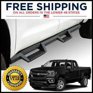 Westin Hdx Drop Nerf Step Bars Texture Black For 15 20 Colorado Canyon Extended