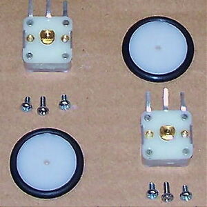 Two Pcs Variable Tuning Pv Capacitor Am Transistor Radio 2 Section Cap W Knob