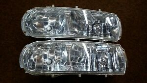 Used I Believe Boss Snow Plow Light Lenses With Bulbs For Parts