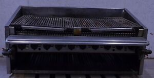46 Natural Gas Countertop Charbroiler Char Grill
