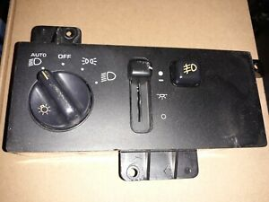 Jeep Grand Cherokee 1997 1998 Light Dimmer Fog Switch Control