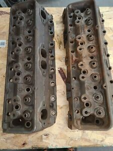 1964 Chevy Small Block L79 3782461 Cylinder Heads Hi Perf Camel Hump