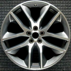 Ford Mustang Machined 20 Inch Oem Wheel 2015 To 2017