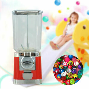 Round Globe Gumball Candy Vending Machine Toy Sweet Capsules Dispenser Gashapon
