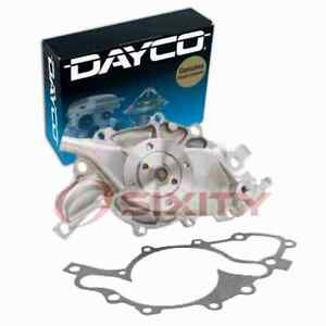 Dayco Engine Water Pump For 1993 1995 Chevrolet Camaro 3 4l V6 Coolant Xz