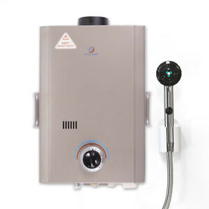 Eccotemp L7 Outdoor Camping Propane Powered Tankless Hot Water Heater open Box