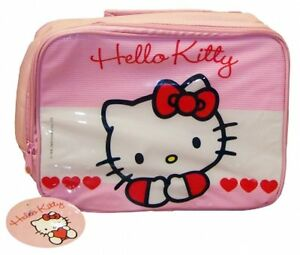 Hello Kitty Sweet Heart Lunch Bag Dinner School Gift