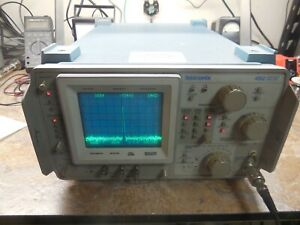 Tektronix 492 Tek Spectrum Analyzer Opt 1 2 3 works no External Mixer Port