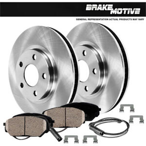 For Mercedes Benz E350 E500 Front 312 Mm Brake Disc Rotors And Ceramic Pads