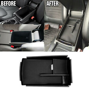 For Vw Passat Cc B6 B7 Hm Auto Center Console Armrest Secondary Storage Box Tray