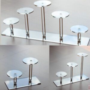 Transparent Acrylic Stand Jewelry Dessert Toy Display Rack Home Shop Party Decor
