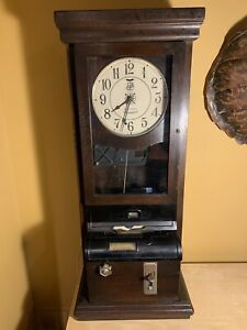 International Time Recorder Co Punch Clock