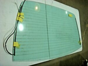 1971 1972 Amc Javelin Amx Rear Glass Tinted Heated Defogger Electric Grid