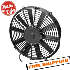 Spal 30100375 12 00 Low Profile Puller Fan With Straight Blades 12v