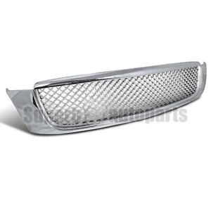For 2000 2005 Cadillac 00 05 Deville Mesh Style Abs Front Hood Grille