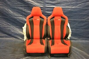 2018 Honda Civic Type r Fk8 K20c1 Oem Lh Rh Front Seat Pair damage 9417
