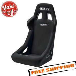Sparco 008235nr Universal Sprint Series Racing Seat Black Fabric