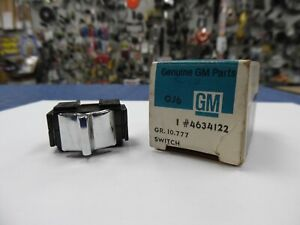 1954 1962 Gm Chevy Convertible Top Window Switch Gm 4634122 Nos