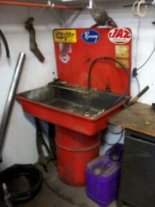 Parts Washer 30 Gal Drum Mounted By Safety Kleen
