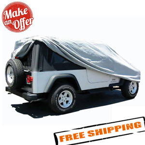 Rampage 1202 Custom fit Car Cover For 2004 2006 Jeep Wrangler Tj Unlimited