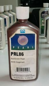 Ppg Paint Prl86 Red green Pearl Perle Rouge vert
