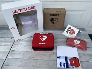 Philips Heartstart Ready Pack Defibrillator Business Package With Carry Case