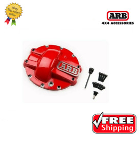 Arb 4x4 Accessories Red 10 bolt Differential Cover For Ford 8 8 0750006