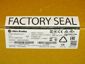 2020 Factory Sealed Allen Bradley 2711p t4w21d8s Series C Panelview Plus 7