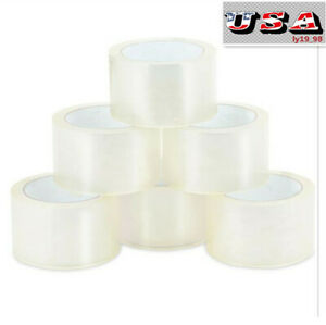 18 Rolls Heavy Duty Packaging Tape Sealing Designed F Moving Box Packing Tapes