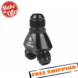 Aeromotive 15675 Y Block Inlet Size 10 An Outlet Size 8 An