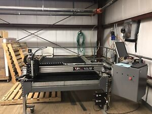 Arc Light Cnc Cutting Table W Hypertherm 65 Upgraded Plasma Cutter