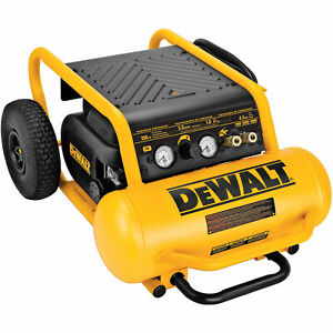 Dewalt D55146 225 Psi 4 5 Gallon Oil Free High Pressure Low Noise Compressor
