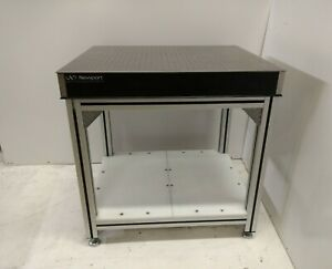 Crated 30 x36 Newport Optical Breadboard Table Adjustable Ht 80 20 Type Bench