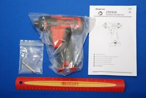 New Snap On Tools Red 14 4 V 1 4 Hex Microlithium Cordless Screwdriver Cts761a