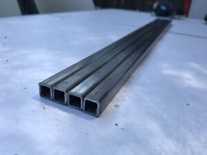1 2 x 1 2 X 13 Gauge 010 Steel Square Tubing 24 Long 4 Pieces