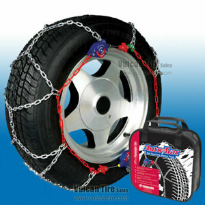 Auto Trac Track 0155010 Tire Snow Chains Self Tightening Peerless