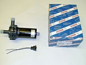 Genuine Bosch Supercharger Intercooler Heat Exchanger Electric Water Pump